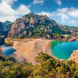 Berge Sardinien